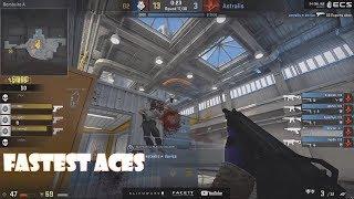 CSGO - Fastest Pro Aces #1