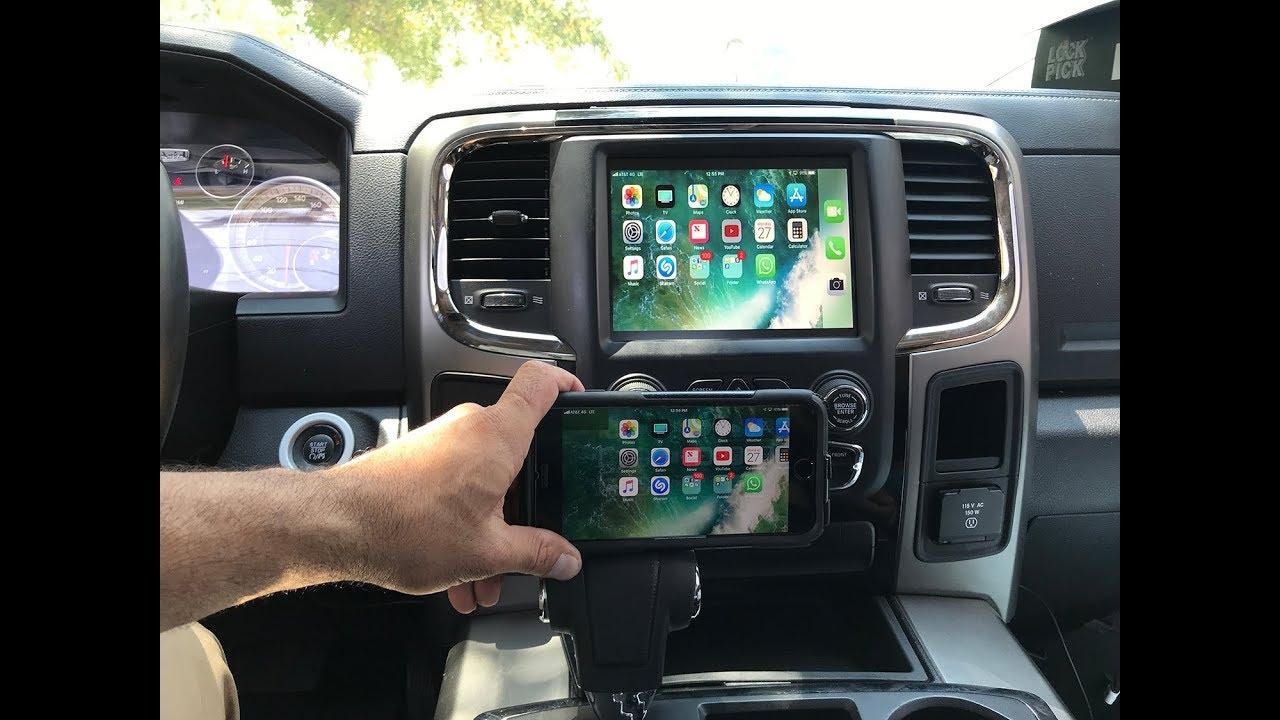 2013-2019 Dodge Ram UCONNECT LOCKPICK AIR HD V2 CarPlay Android Auto  MirrorLink