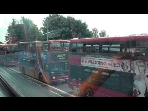 (HD) Departing Walthamstow Bus Station on London Bus Route 69