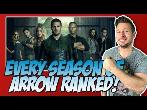 All 7 Seasons Of Arrow Ranked!