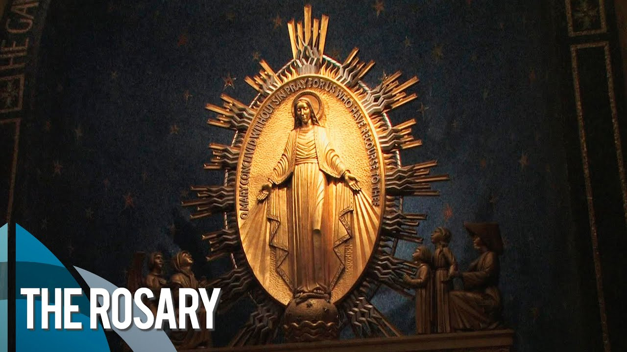 The Glorious Mysteries of the Holy Rosary | National Shrine - YouTube