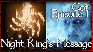🧙 What is the Night King's Message? GOT S8 Theory