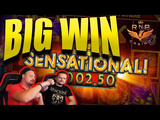 Big Win on Ancient Egypt Classic Slot - Casino Stream Big Wins