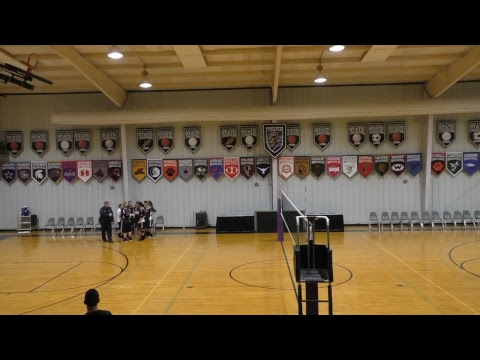 USCAA VOLLEYBALL • Crown College vs Johnson University • Oct. 3, 2017