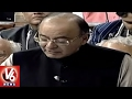Dialogue War Between BJP And Opposition Over Union Budget 2017 | V6 News