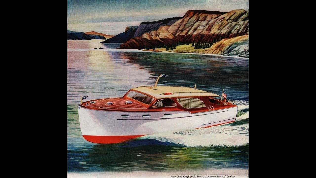 Vintage Chris Craft Cruisers