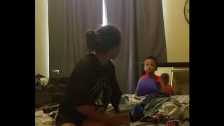 Toughest Trainer In the World!!! Toddler DEMANDS PERFECTION! (With Words)