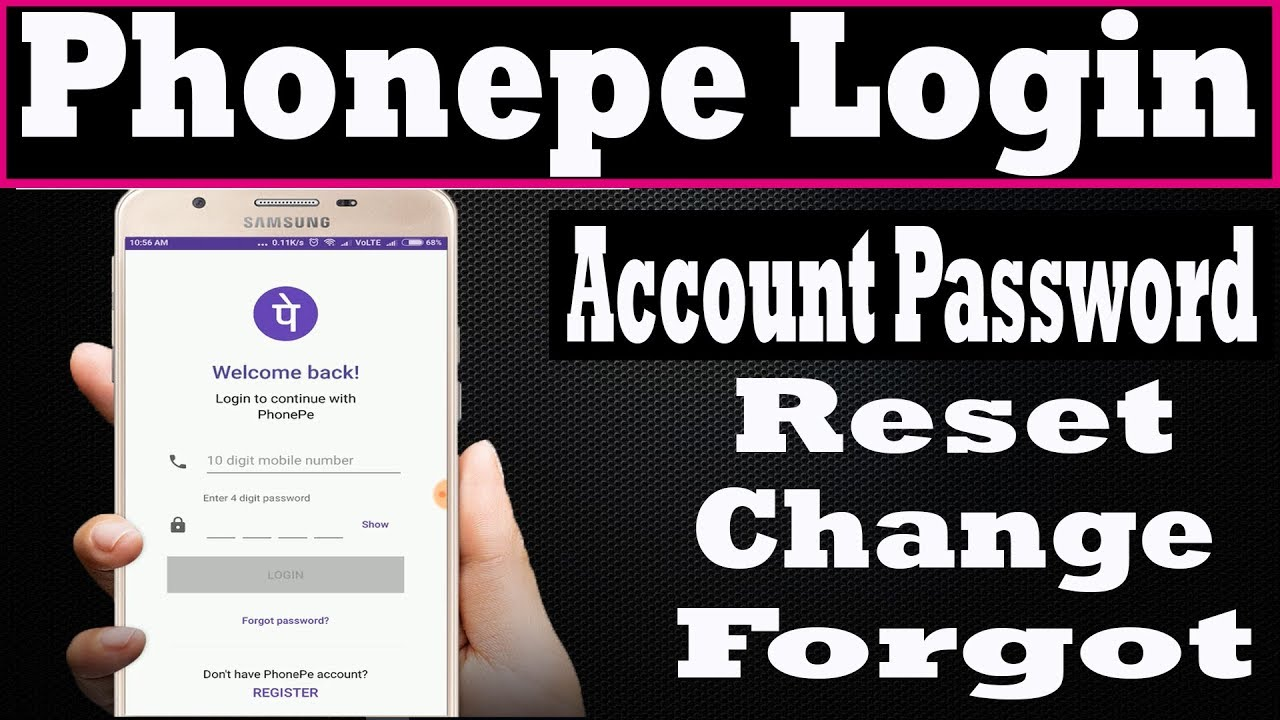 phonepe login - phonepe account password reset,change,forgot ? Password  kaise change,reset kare