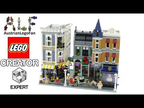 Lego Assembly Square Speed Build