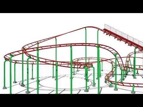 Vekoma Roller Skater, 335m model (NoLimits 2)