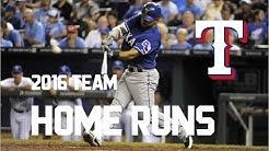 Texas Rangers | 2016 Home Runs (215)