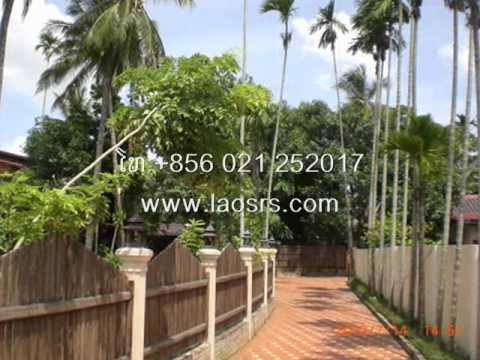Laos Vientiane House Villa Apartments for Rent Sale Buy