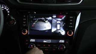 NaviPilot DROID4 для Nissan Qashqai (J11) и X-Trail (T32) с поддержкой кругового обзора 360 (AVM)