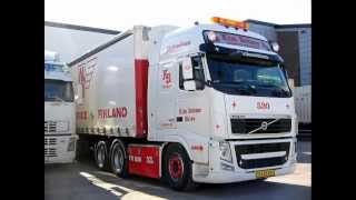 Norweskie ciężarówki