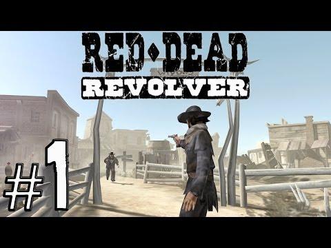 Red Dead Revolver Walkthrough Gameplay - Intro Red Harlow - Part 1