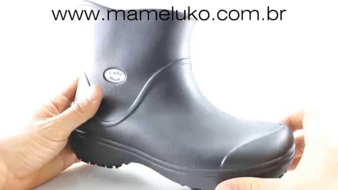f50891be42d Bota de borracha Light Boot da Softworks na Mameluko - YouTube