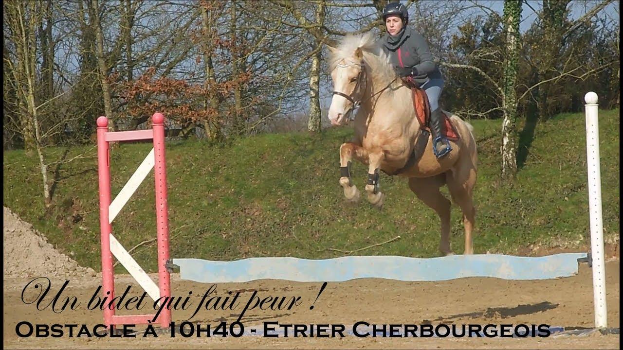 Un Bidet Qui Fait Peur Obstacle A 10h40 Etrier Cherbourgeois
