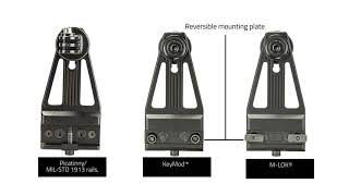 Vism Action Camera KPM Mount.