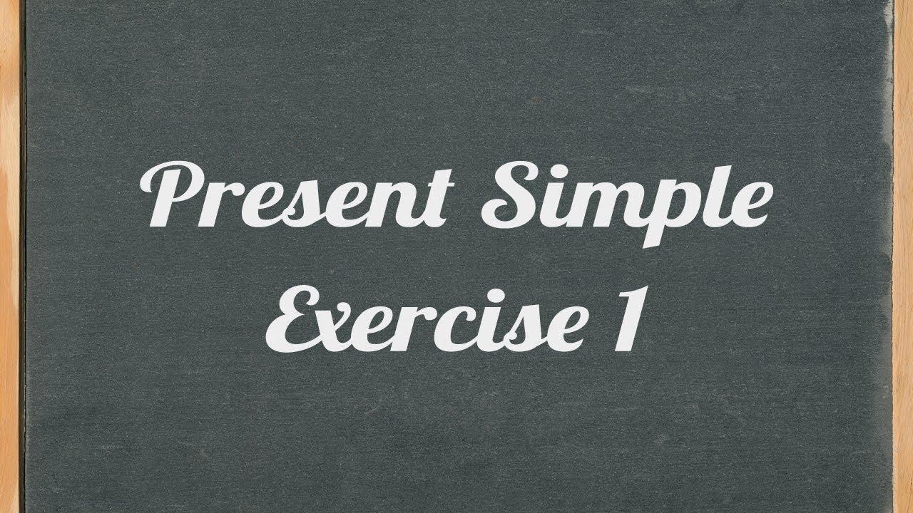 medium resolution of Present Simple exercise - English grammar exercise - YouTube