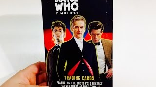 Topps Doctor Who Timeless trading card box break