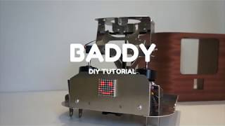 BADDY V2 DIY Tutorial #3 ter - Electronics and motors Shield PCB Version - frame update