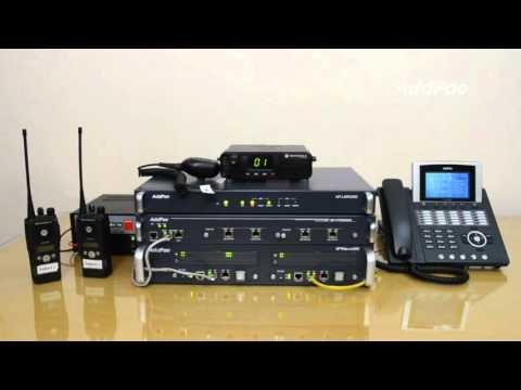 Motorola M8620 Radio over IP (RoIP) Demonstration using AddPac LMR Gateway | AddPac