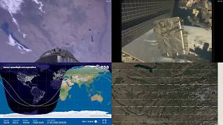 Passing Over Asia - NASA/ESA ISS LIVE Space Station With Map - 214 - 2018-10-17