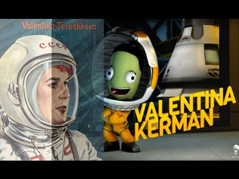 Kerbal Space Program - The story of Valentina Tereshkova + Air Launch to Orbit (ALTO) Challenge