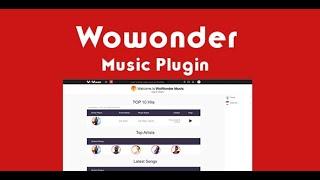 Installation of the Music Plugin - Wowonder