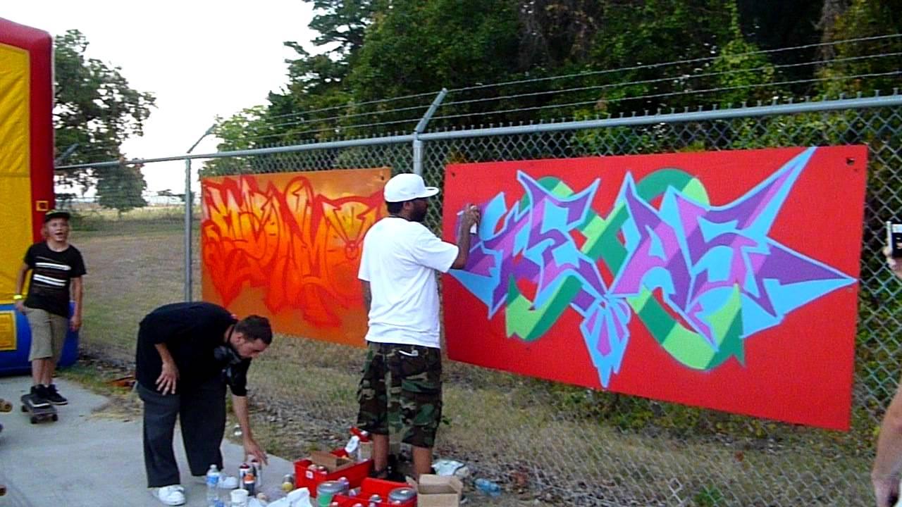 Yums First Fridays Big Tex Live Graffiti Battle