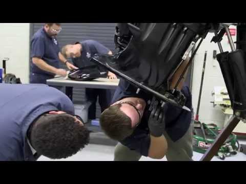 TCC Diesel Marine and Marine Gasoline Engine Technician Programs, Student John Sanetrik