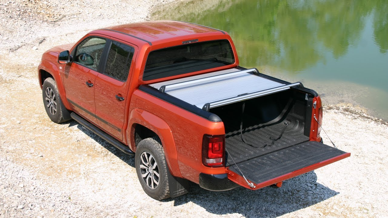 Vw Amarok Mountaintop Roll Das Neue Alurollo Youtube