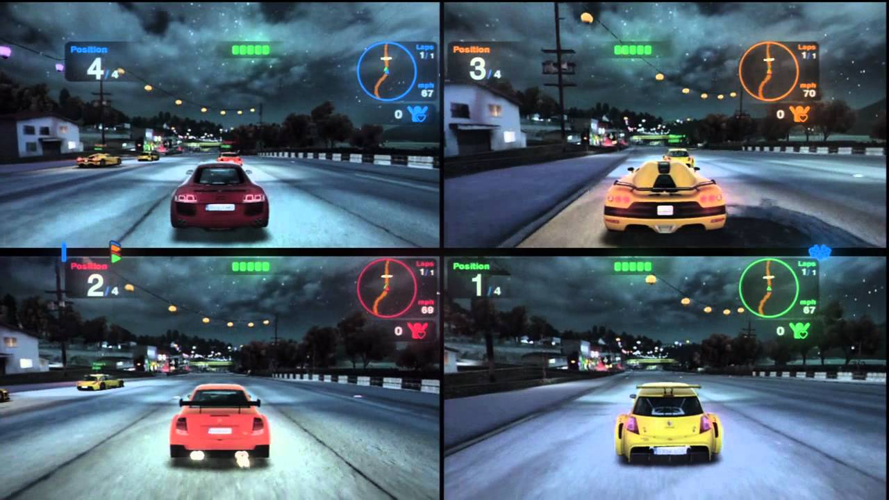 Cars Race Games  Players