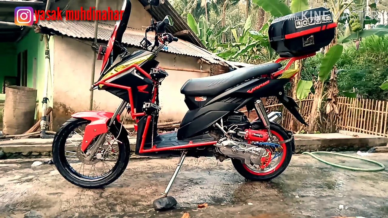 Modifikasi Honda Vario 110 Techno Mod Touring Vario Matic Modifikasi Honda Jinjit