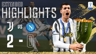Juventus 2-0 Napoli | CR7 & Morata Goals Secure 9th Supercup Win! | EXTENDED Highlights