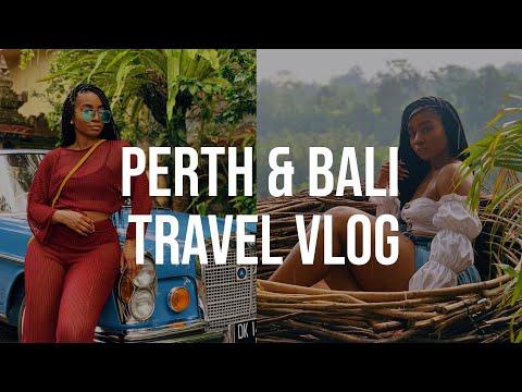TRAVEL VLOGGGG -- Perth, Australia and Bali, Indonesia -- LITERALLY UNREAL.