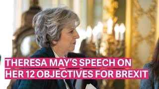 Theresa May's Global Britain Speech (17th January 2017)