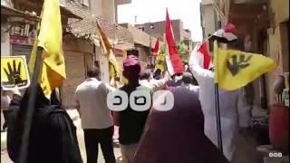 رصد | الجيزة: مسيرات معارضة لحكم العسكر في ناهيا وكرداسة