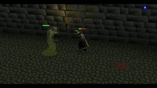 Runescape Barrows Trials - Challenge 3: Aberrant Spectre - No Nose Peg!! All Combat Stats lvl 1!