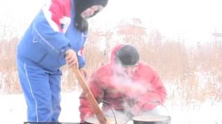 Зимняя Рыбалка, Ока, Ланьшино  18.02.17г.