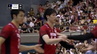 石川祐希 Yuki Ishikawa Japan vs Korea Highlight International Friendly 28/07/2018