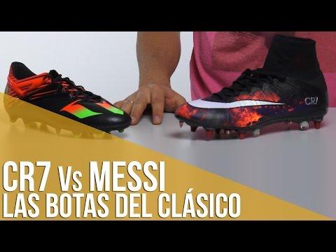 Ronaldo Vs. Messi // Las Botas del Real Madrid - Barcelona