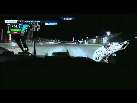 Night ride at Circuit of the Americas - Onboard with Porsche #17 Timo Bernhard