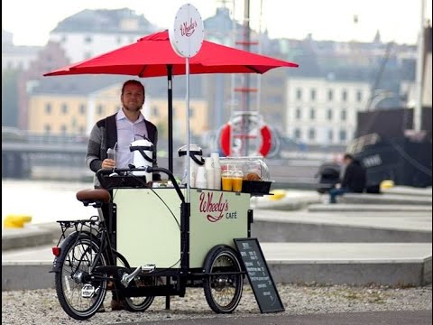 Start Your Own Little Coffee Bar On A Bike