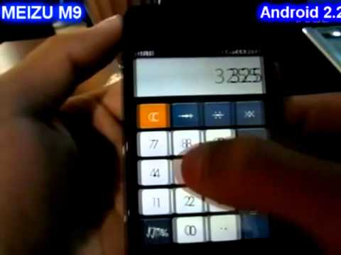 Meizu M9 - 8GB -  Android 2.2