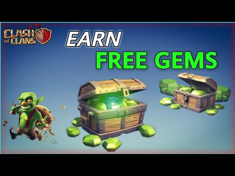 HOW TO GET FREE GEMS IN - CLASH OF CLANS | LEGALLY NO HACKS
