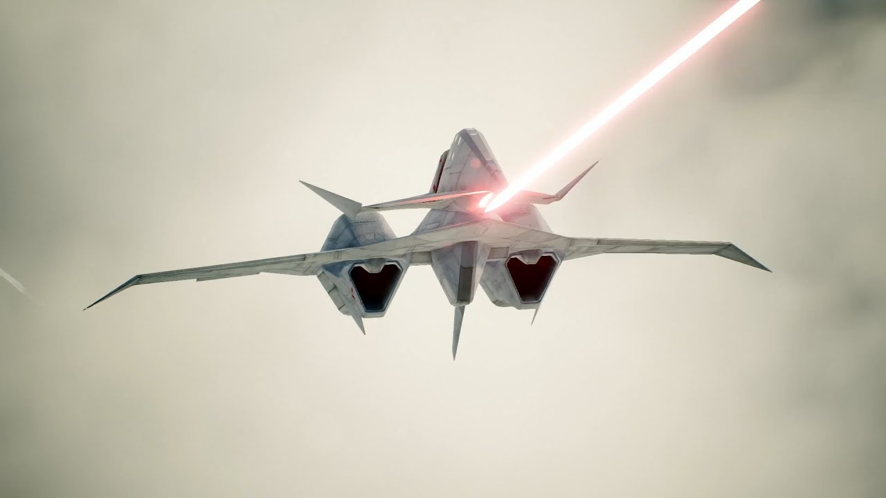 The ADF-11F Raven Is Now Available In The ACE COMBAT 7