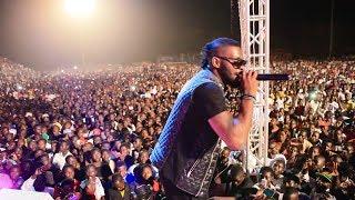 Dj Arafat moments forts de son concert au Tchad