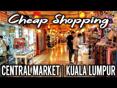 Central Market | Cheap Shopping | Kuala Lumpur | Malaysia
