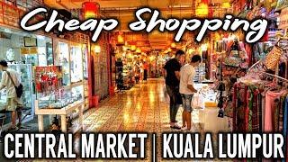 Central Market   Cheap Shopping   Kuala Lumpur   Malaysia